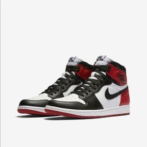 """Air Jordan """"Black Toe"""" 1's"""